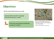 WSSA Lesson1 Slide2 180x130 - Herbicide-resistant Weeds Training Lessons