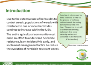 WSSA Lesson1 Slide4 180x130 - Herbicide-resistant Weeds Training Lessons