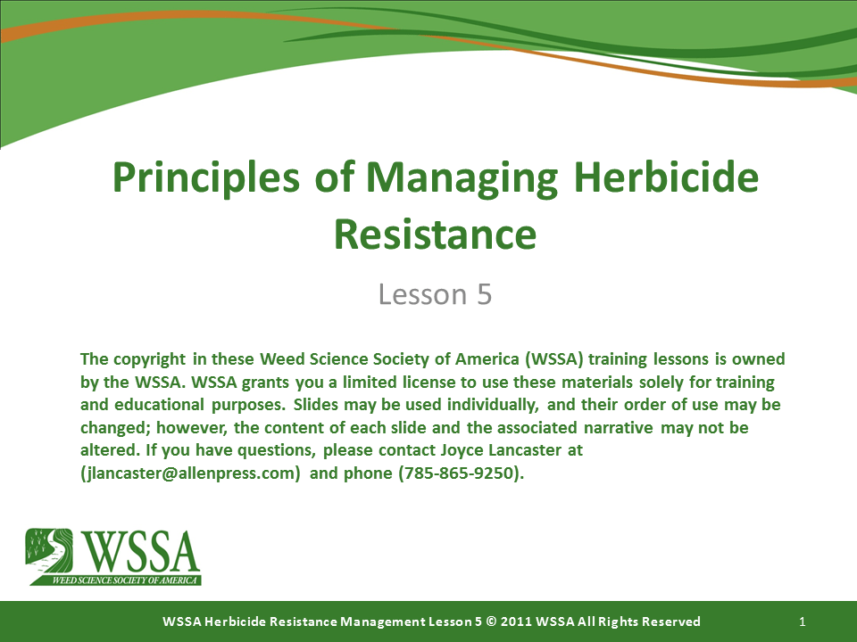 Slide1.PNG lesson5 - Herbicide-resistant Weeds Training Lessons