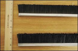strippers brush uncrimped - Stripper Harvester Preparation