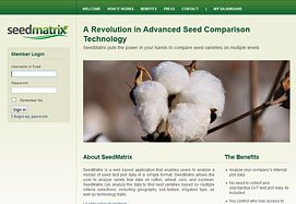 seed matrix screen - SeedMatrix.com