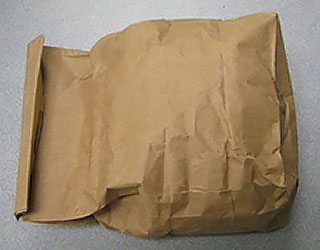 bag fold down - Fiber Sample Packaging and Labeling