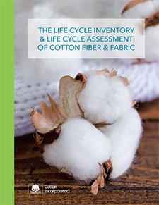 Life Cycle Assessment of Cotton Fiber and Fabric