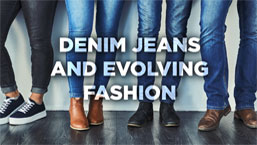 evolving denim