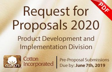 PDI RFP 2020 - Textile Research