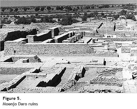 moenjo daro ruins - Cotton Fiber Development and Processing