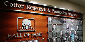 hall of fame picture small - Cotton Research and Promotion Program Hall of Fame 2019 Inductees Announced
