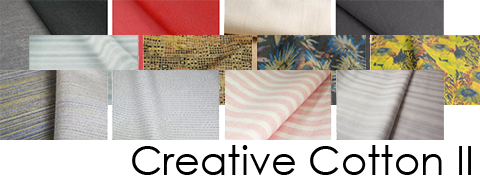 Creative Cotton index - FABRICAST™ Fabric Inspiration